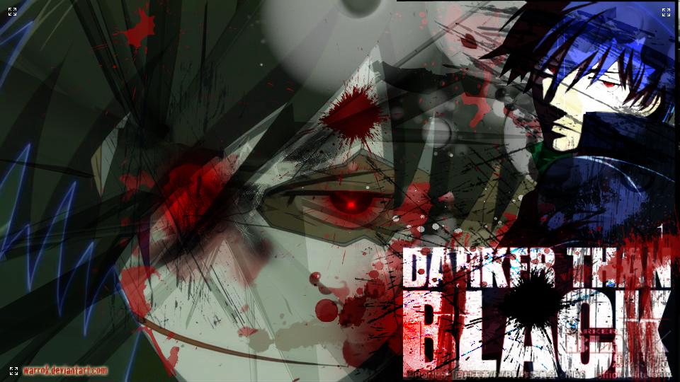 Recomendaciones de Anime Daker-than-black-pain