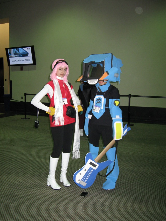 flcl-cosplayers