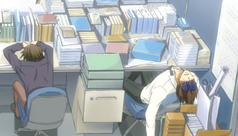 Anime Characters With Jobs : Sekai ichi hatsukoi at a glance gar stegosaurus