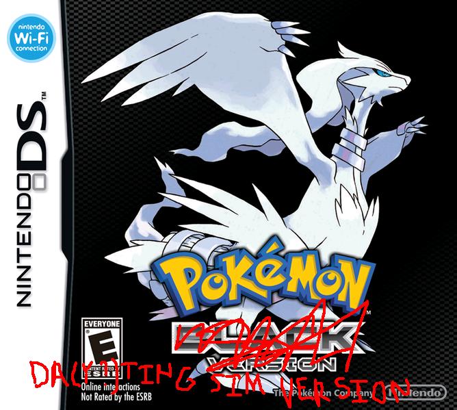 pokemon black and white dating sim