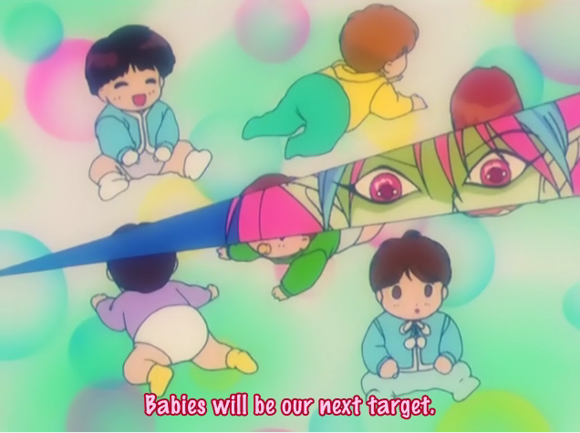 sailor moon r babies