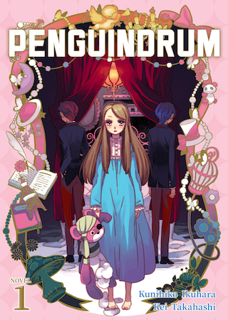penguindrum vol 1 ln cover
