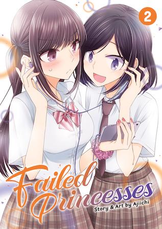 failed princesses vol 2 cover